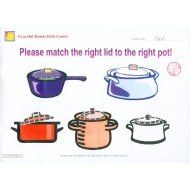 Put the right lid to the right pot